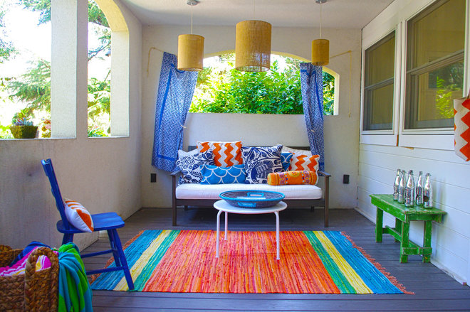 Eclectic Balcony by G Family, Inc.