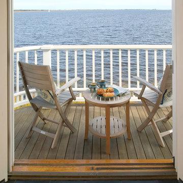 Newburyport Riverside Home - Balcony