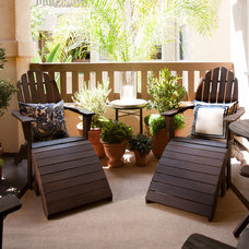 Beach Style Porch by Jessica Bennett Interiors