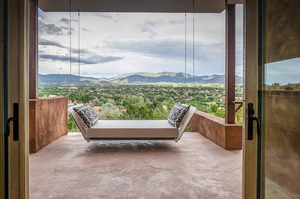 Contemporary Balcony by Studio Beili Incorporated