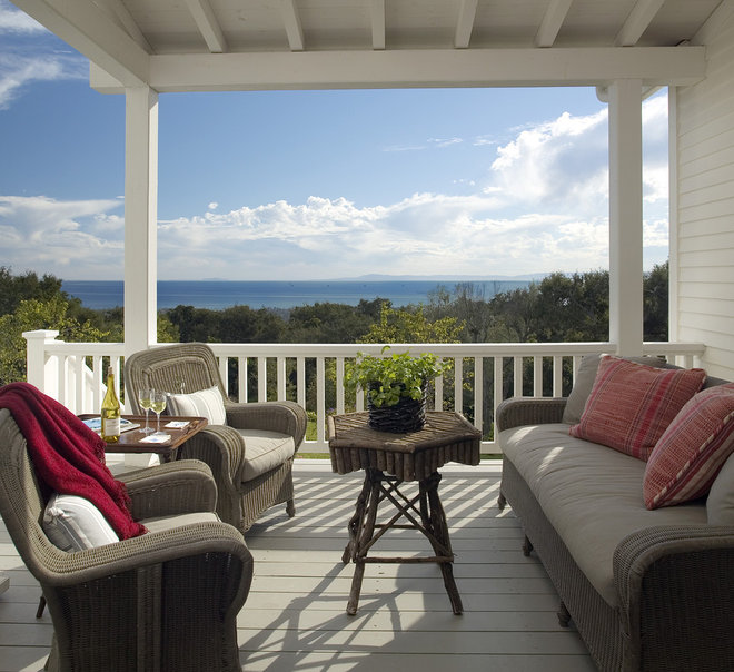 Traditional Porch by Tom Meaney Architect, AIA