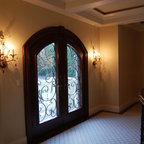 Sherman Lake Home Traditional Balcony New York By