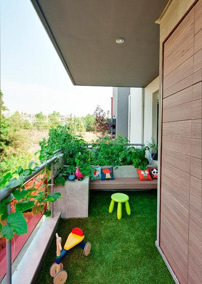 Contemporáneo Balcones by Vita Verde