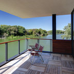 Boat House Modern Balcony New Orleans By Decro