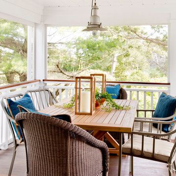 Screen Porch with Water View - Westport, Connecticut
