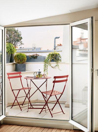 Klassisch Balkon by A+B KASHA Designs
