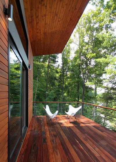 Contemporain Balcon by Rusafova Markulis Architects