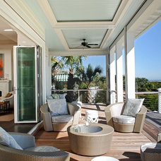 Contemporary Porch by Phillip W Smith General Contractor, Inc.