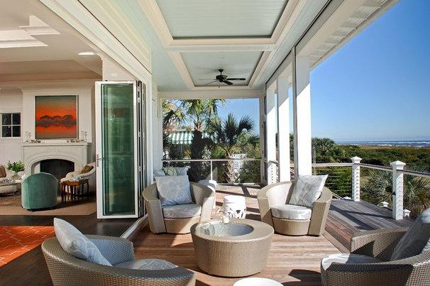 Contemporary Porch by Phillip W Smith General Contractor, Inc.
