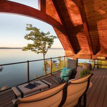 Torch Lake Timber Remodel