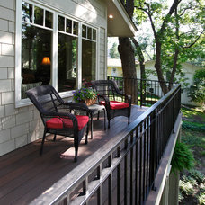 Traditional Deck by Replacement Housing Services Consortium