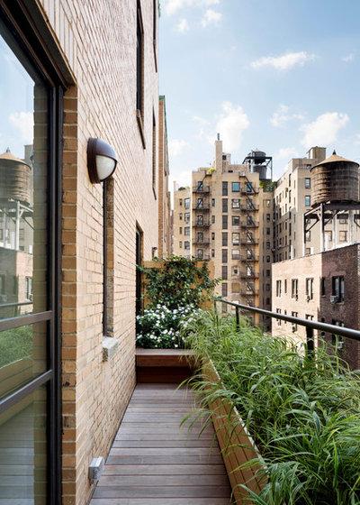 コンテンポラリー ベランダ・バルコニー by Stephen Moser Architect