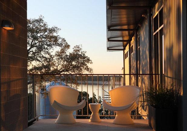 Contemporary Balcony by Webber + Studio, Architects