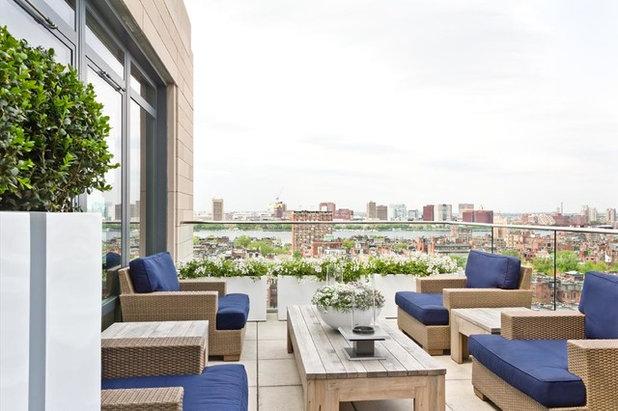 Contemporary Balcony by Rosemary Fletcher Photography
