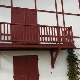 Balcon, terrasse et portique