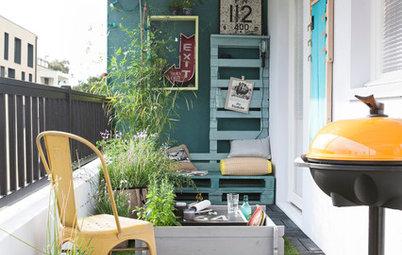 9 id es pour faire de votre petit balcon la pi ce phare de la maison. Black Bedroom Furniture Sets. Home Design Ideas