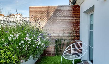 Comment agrandir visuellement un petit balcon ?