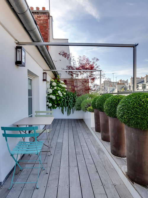 photos et id es d co de terrasses. Black Bedroom Furniture Sets. Home Design Ideas