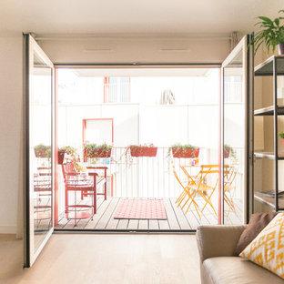 Salon et terrasse / Paris 17ème