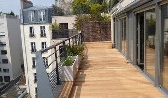 Terrasse en Robinier ( Faux Acacias)
