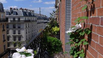 Un balcon filant à Paris Montparnasse...
