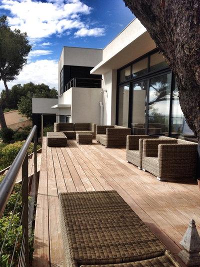 8 questions se poser avant d 39 am nager une terrasse suspendue. Black Bedroom Furniture Sets. Home Design Ideas
