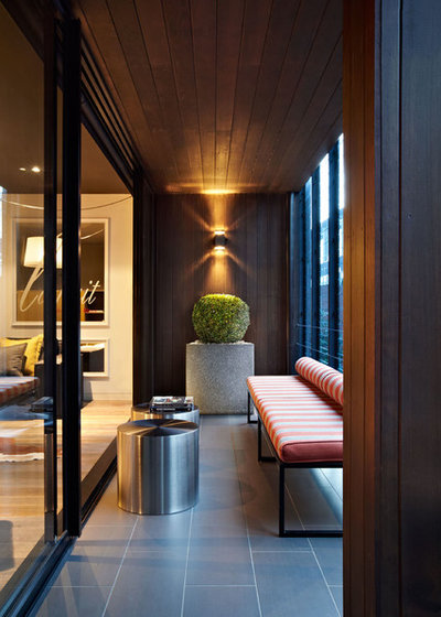 Contemporáneo Balcones by Patrick Meneguzzi Interiors
