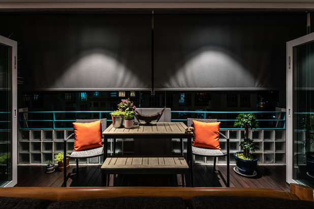 Transitional Balcony by Chapter B Pte Ltd