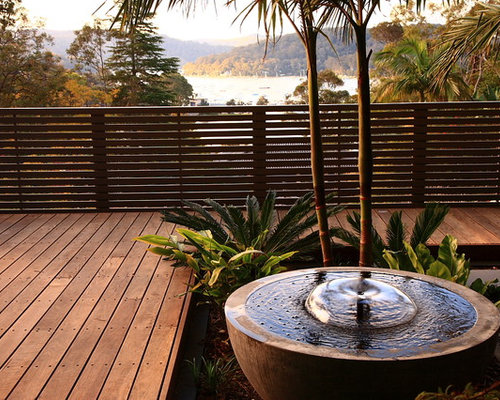 Spotted gum timber floor home design ideas pictures for Balcony features