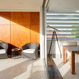Photo of a contemporary balcony in Sydney.