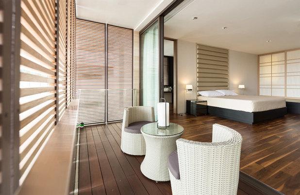 Contemporary Balcony by SNA Design