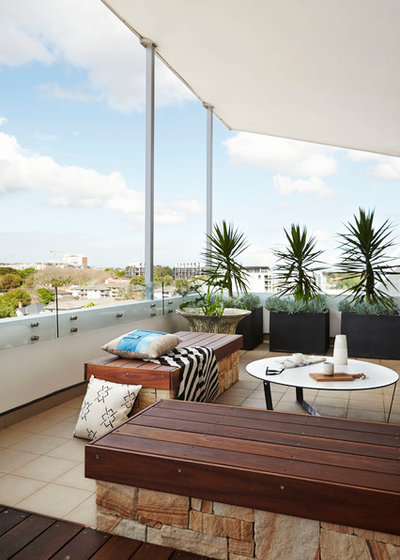 Block Out Thy Neighbour: Privacy Plants for the Modern Home B2215b9a039ff3d9_1585-w400-h560-b0-p0--contemporary-balcony