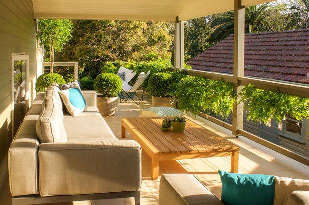 Modern Balcony Outdoor Terrace