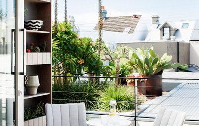 Kvadratsmart förvaring på balkong och altan