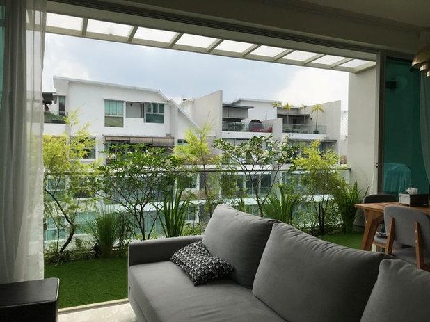 Balcony by Passionscape Pte Ltd | Greentech materials Pte Ltd
