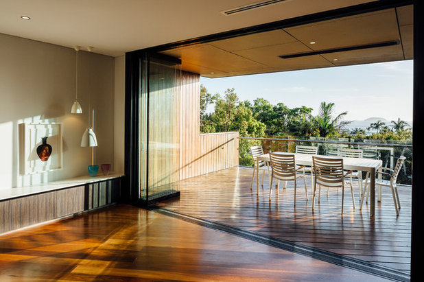 Modern Balcony by Ned Architecture & Design