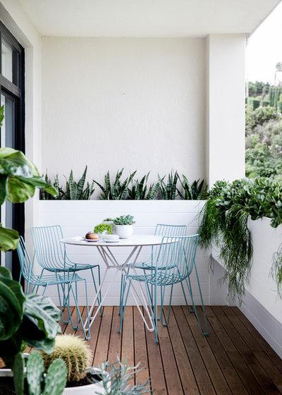 Contemporain Balcon by Custom Creations Landscapes