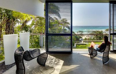 Houzz Австралия: Дом с видом на пляж из каждой комнаты
