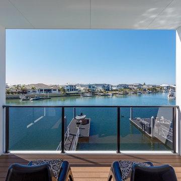 Waterfront Balcony in Queensland, Australia