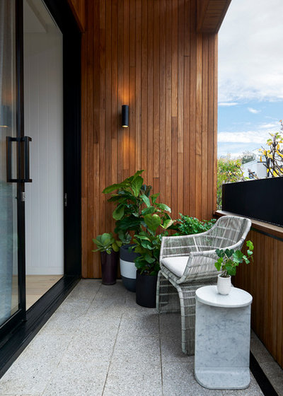 Contemporary Balcony by S&K Group