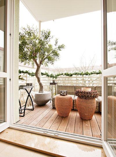 Skandinavisch Balkon by EDZARD PROBST - Architekturfotografie