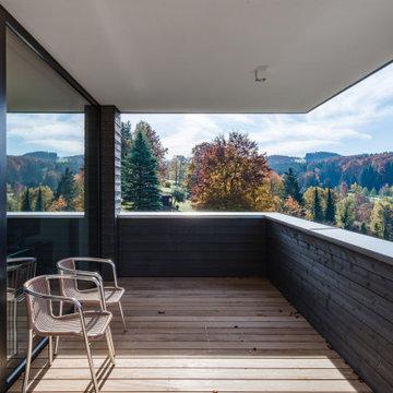 Minimalistisch Balkon
