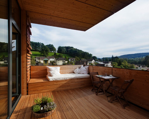 berdachte rustikale terrasse ideen design bilder houzz. Black Bedroom Furniture Sets. Home Design Ideas