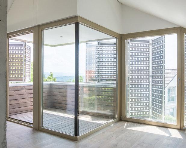 Contemporáneo Balcones by Architekturbüro msm Schneck