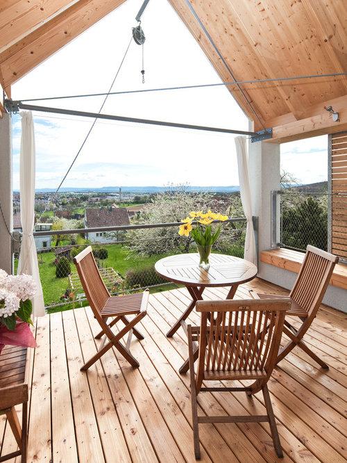 Elegant Mittelgroße, Überdachte Landhausstil Terrasse In Stuttgart