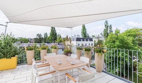 Sun City: 8 Möglichkeiten für den Sonnenschutz auf Balkonen