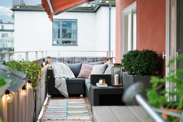 Skandinavisch Balkon by Scandinavian Homes