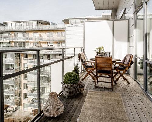 Foto e Idee per Terrazze e Balconi - terrazze e balconi moderni Göteborg
