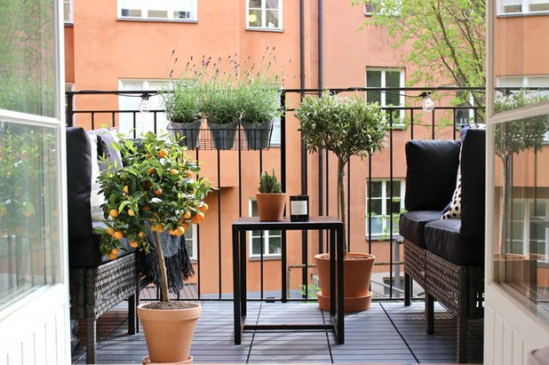 Scandinavian Balcony by Styled by Melin