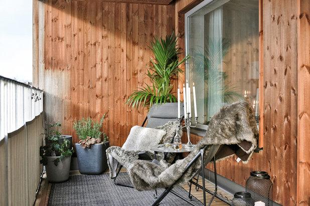 Skandinavisch Balkon by dream design sthlm